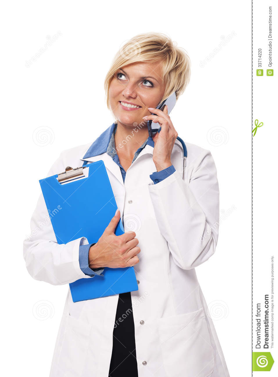 Busy Doctor Stock Photo - Image: 33714220