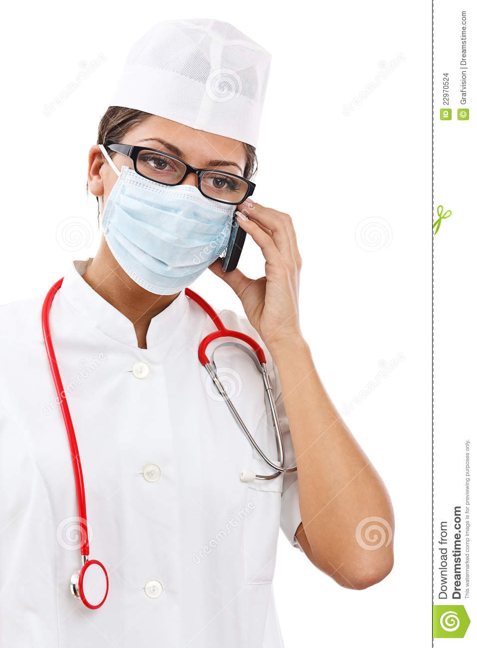 Busy Female Doctor Stock Images - Image: 22970524