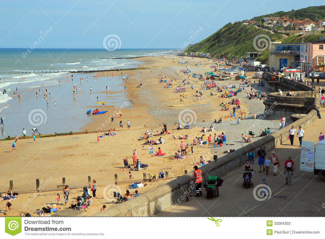 Cromer United Kingdom  city photo : ... sea and playing on the sand. This was taken at Cromer United Kingdom