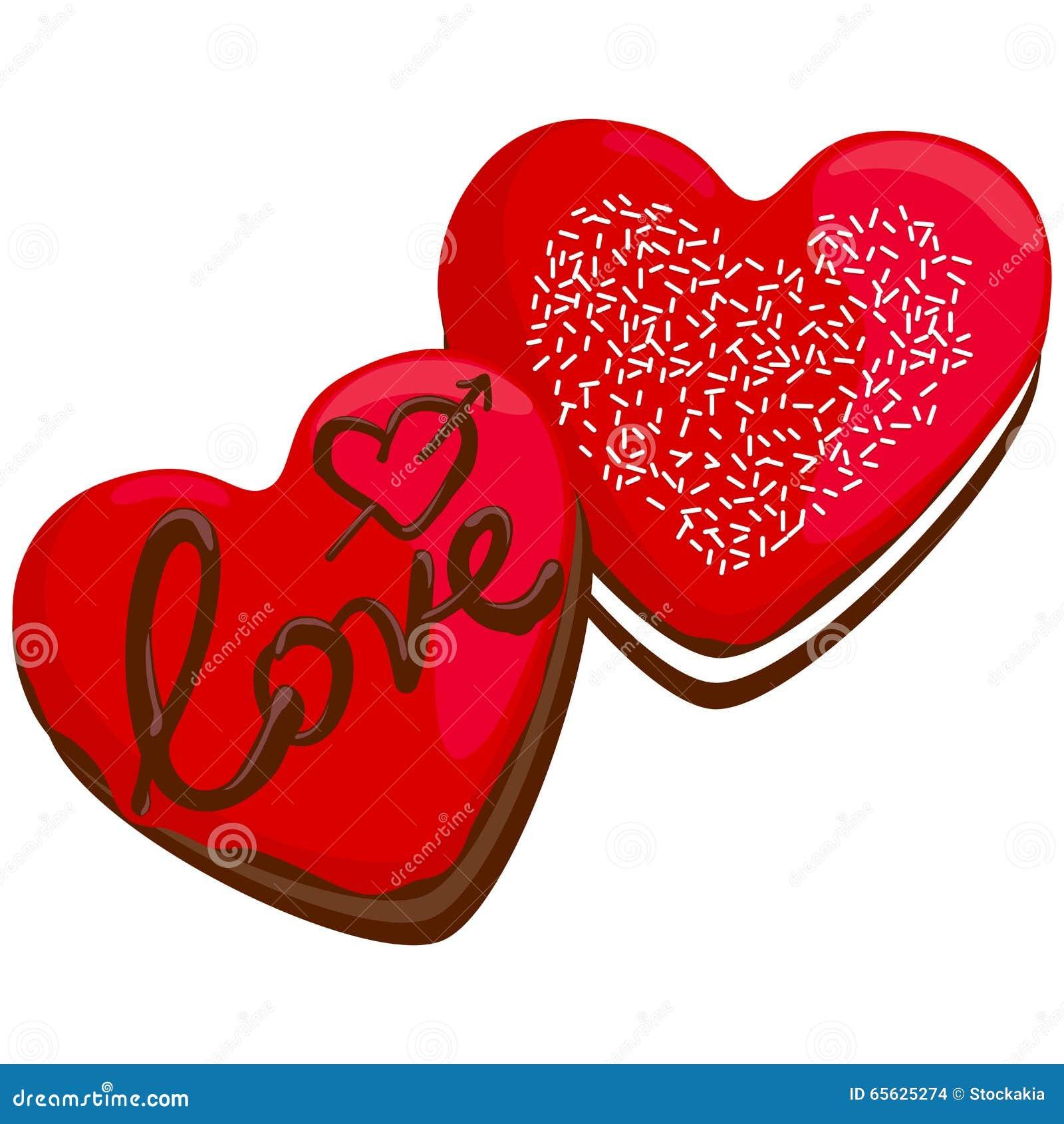 Butées toriques en forme de coeur de Saint-Valentin