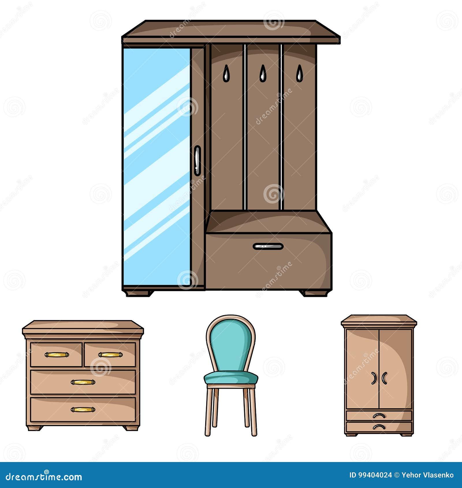 Butaca, Gabinete, Cabecera, Tabla Los Muebles Y Los Iconos Caseros ...