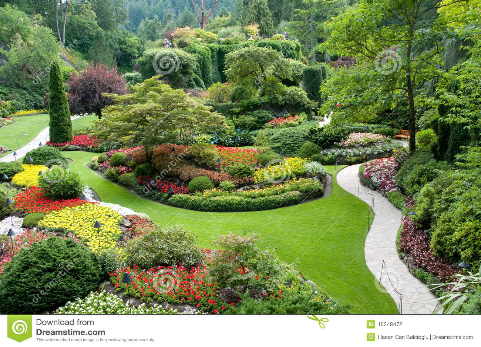 Butchart ogródy
