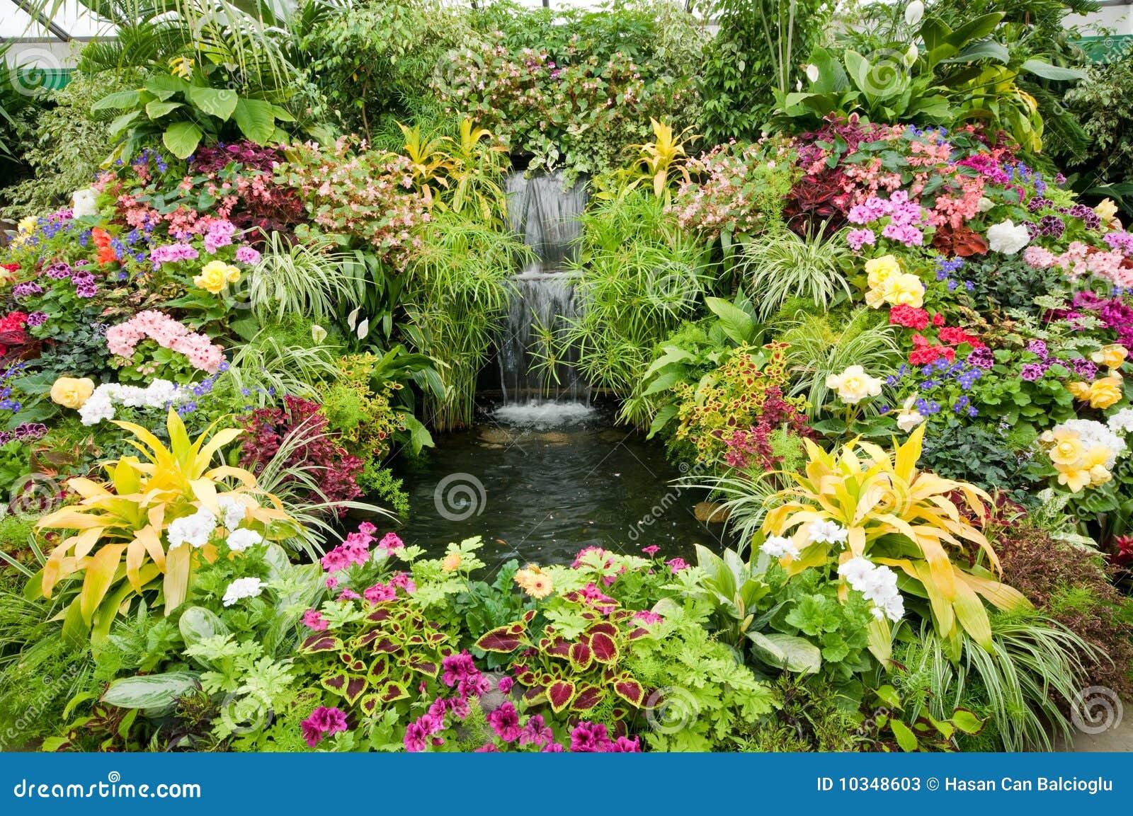 Butchart pokazu kwiatu ogródy