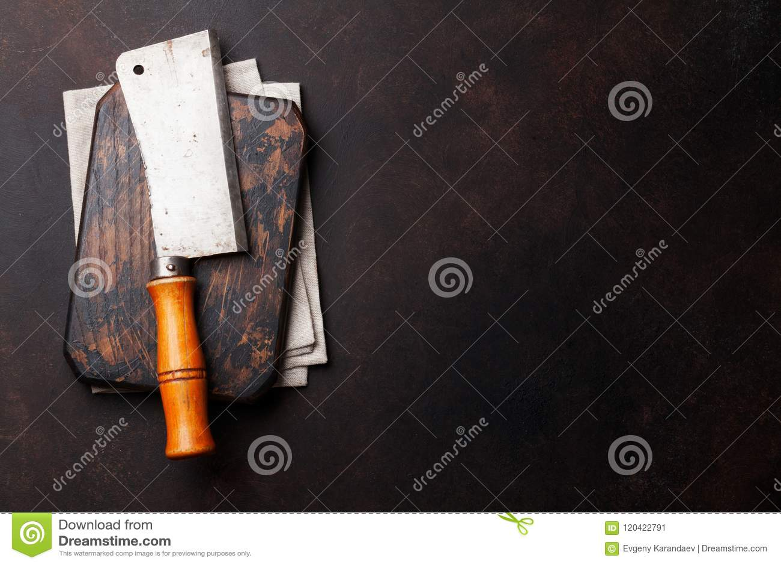 Butcher Винтажный нож мяса