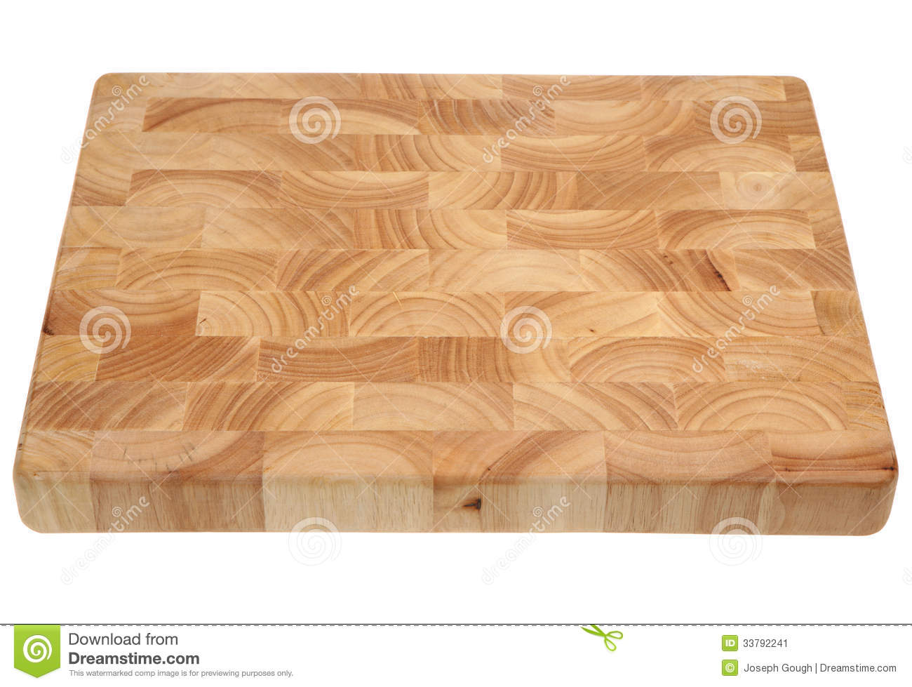 butcher s block wooden chopping board stock image image