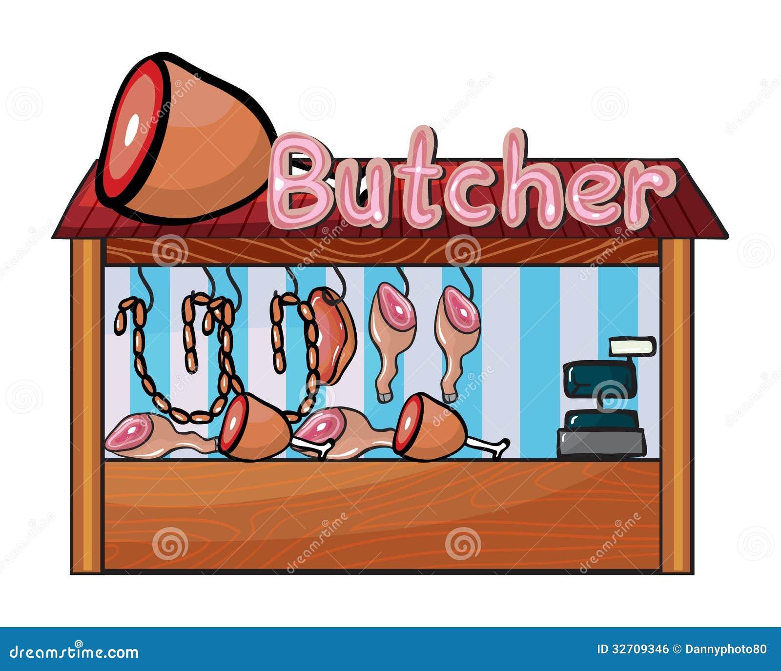 Butcher Shop Royalty Free Stock Image - Image: 32709346