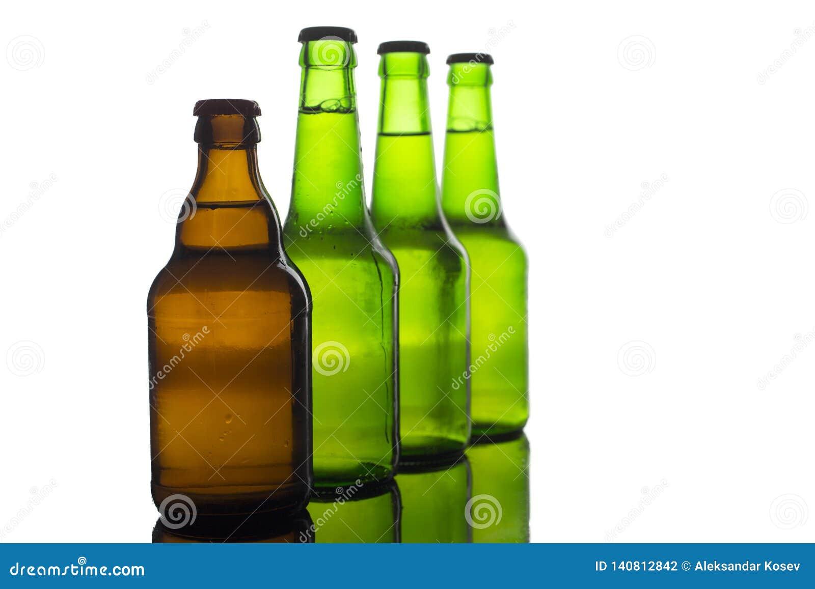 Buteljerar av öl