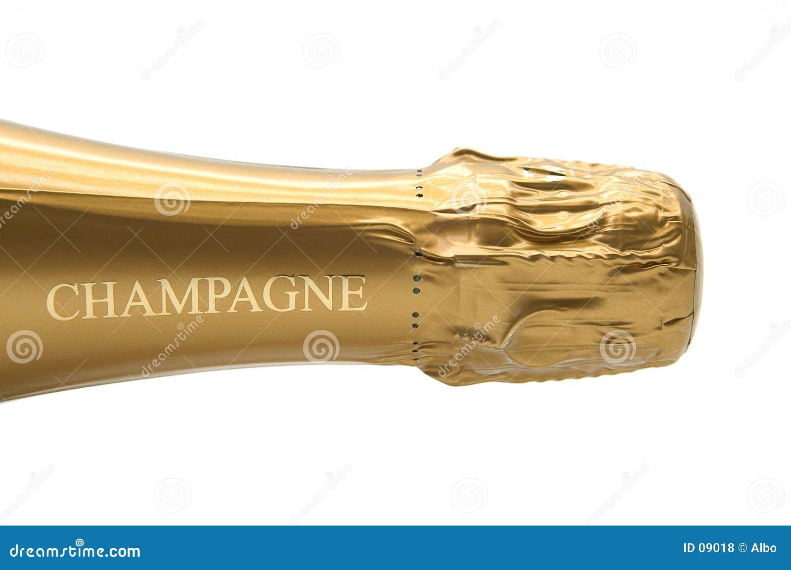 Butelkę szampana