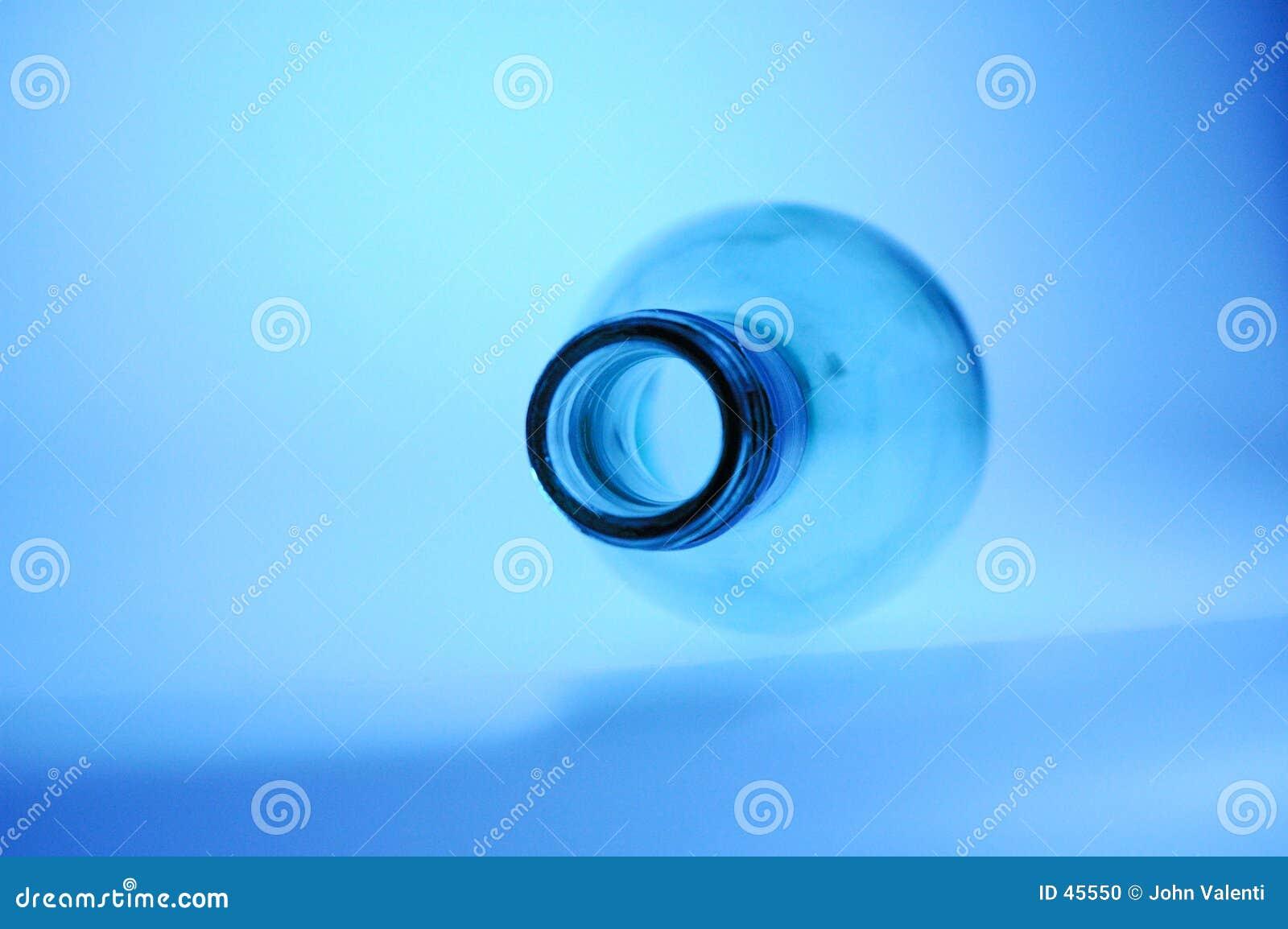 Butelkę blue