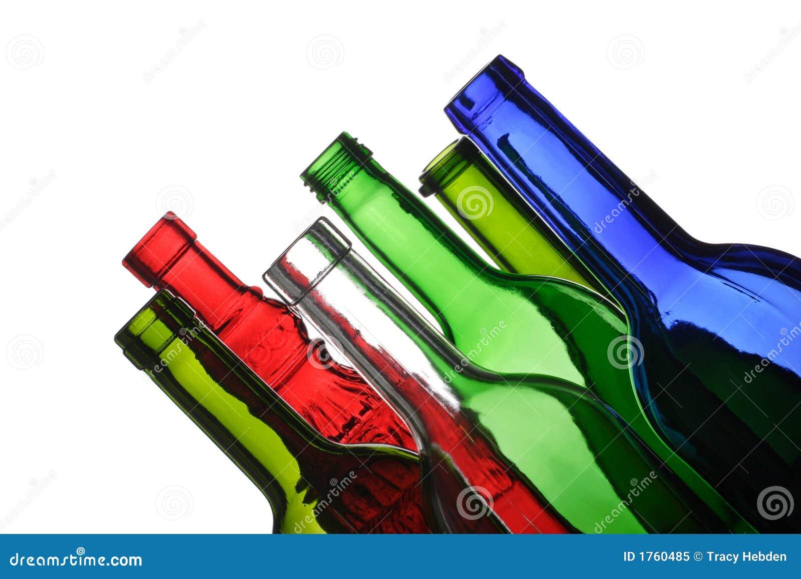 Butelki opróżnione