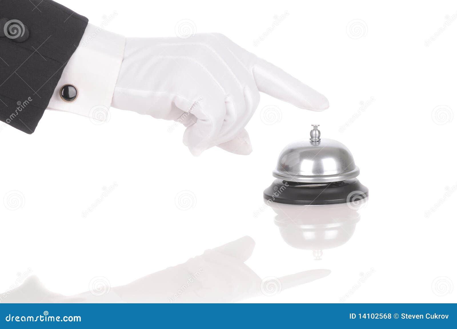 Butler Ringing Service Bell