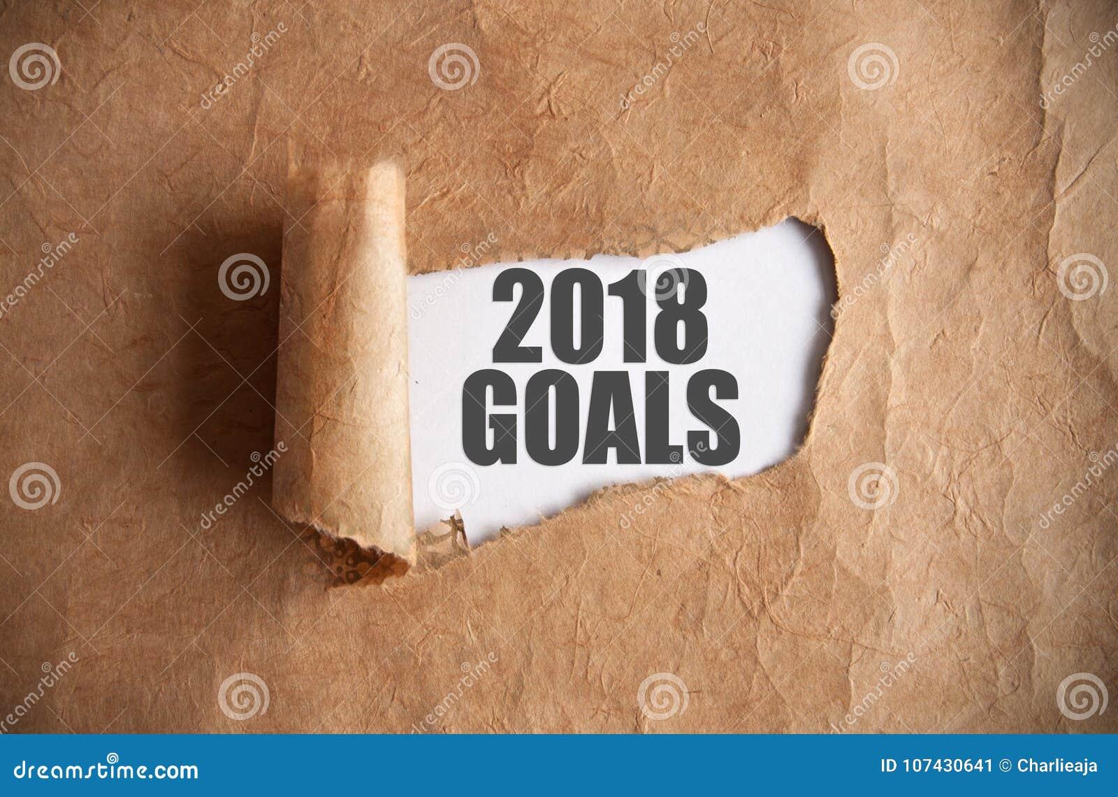 2018 buts découverts