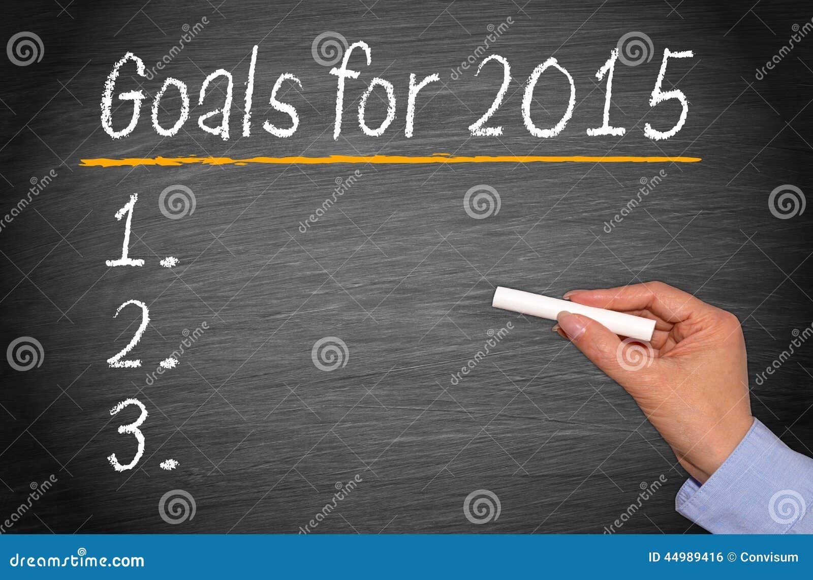 Buts pour 2015