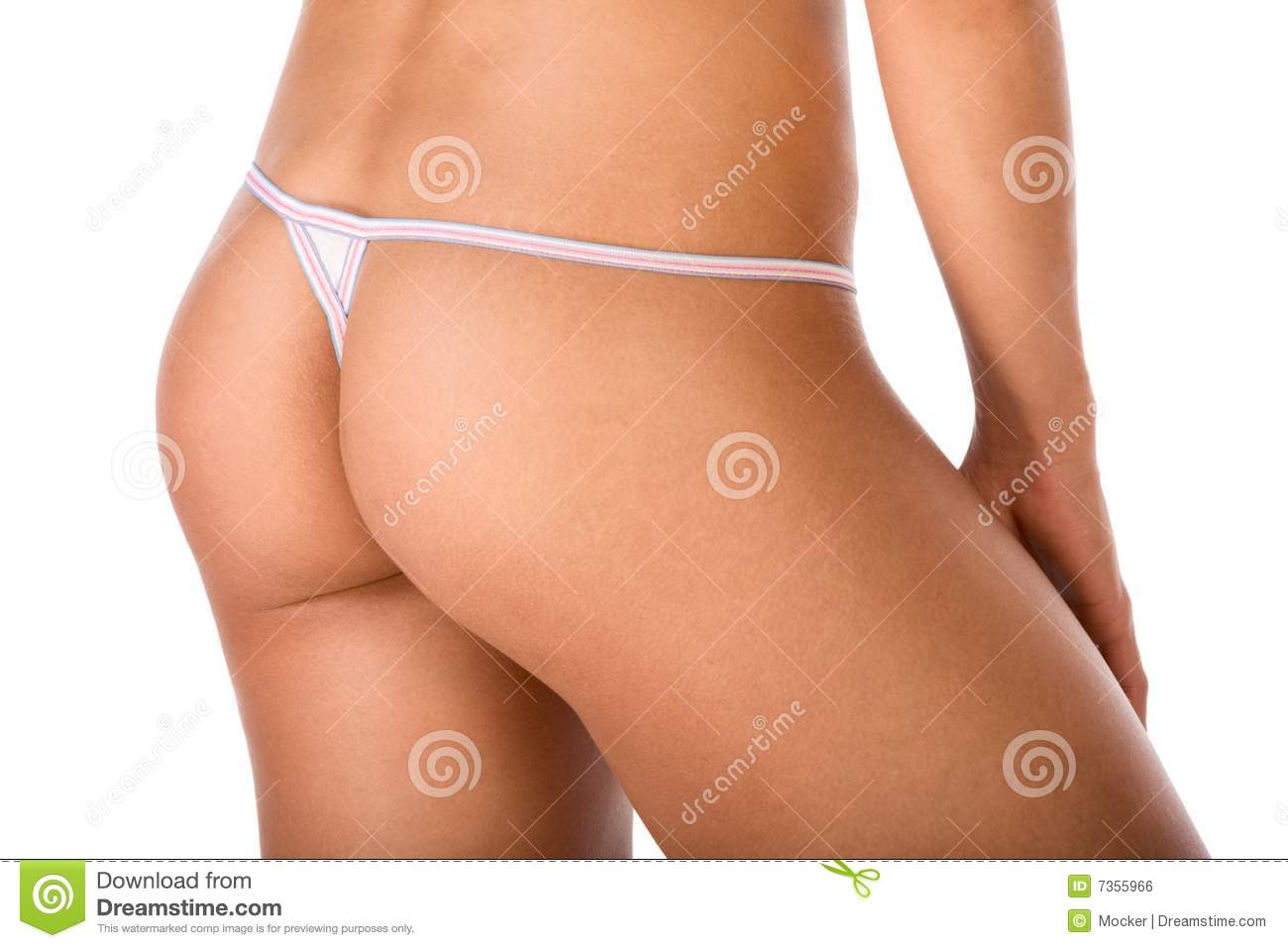 how to tell if a girl is wearing a thong