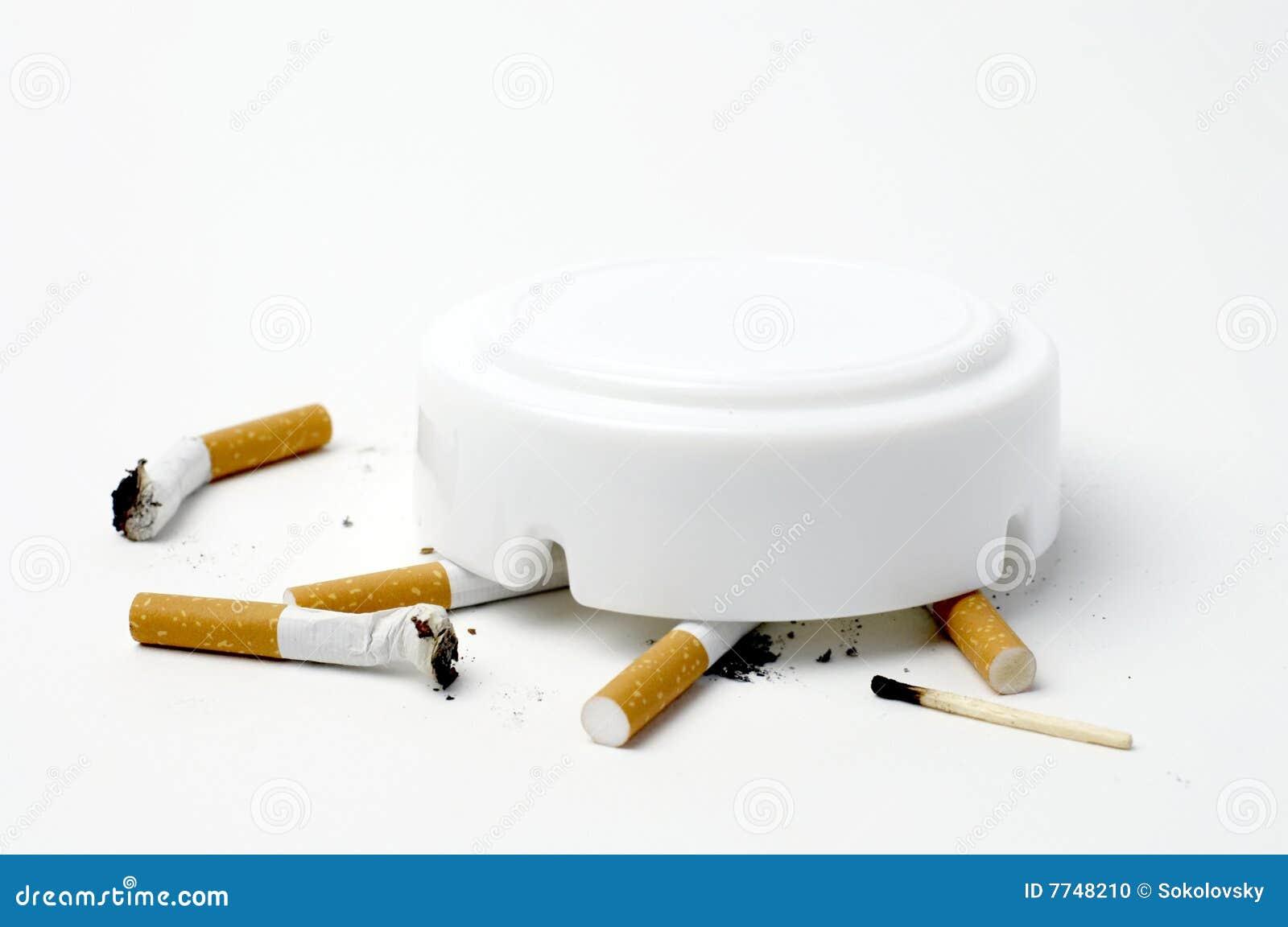 Buttcigarettnr. - rökande white