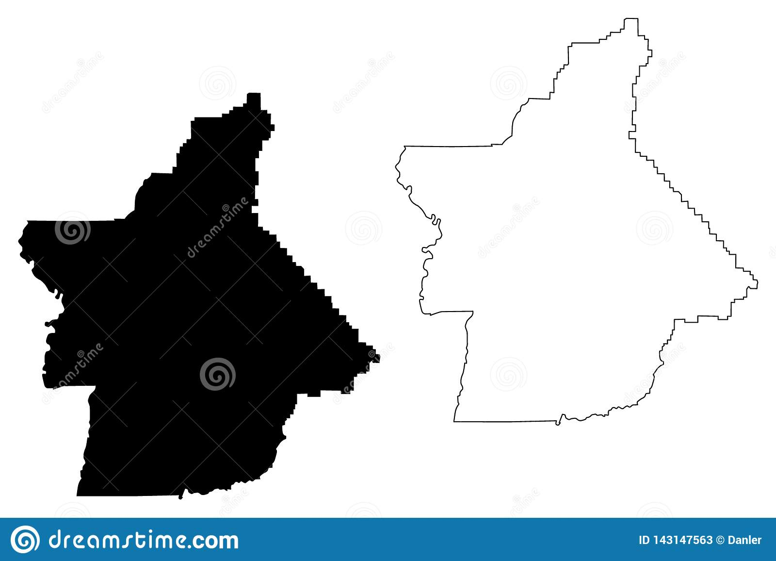 Counties In California Map.Butte County California Map Vector Stock Vector Illustration Of