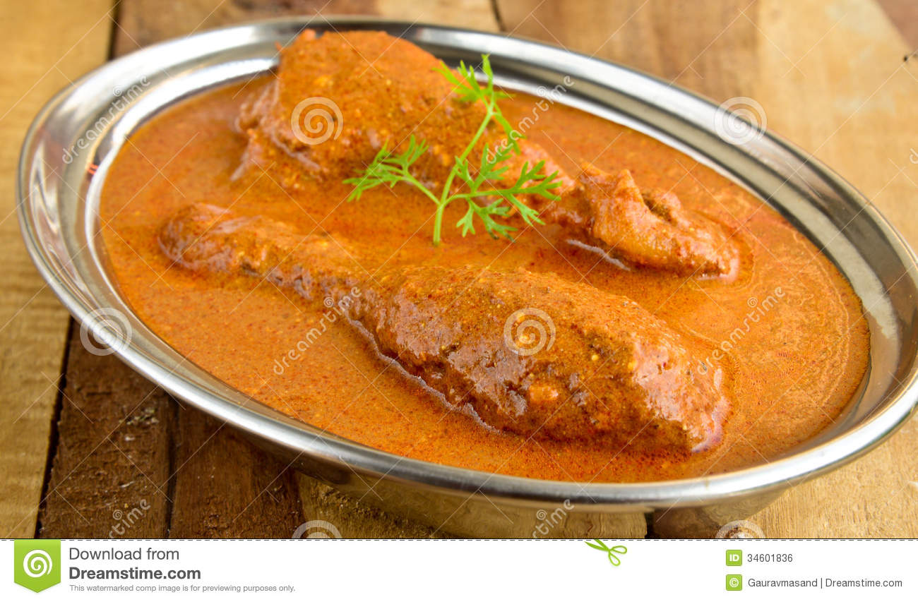 Butter Chicken Curry Stock Photo Image Of Malaysian