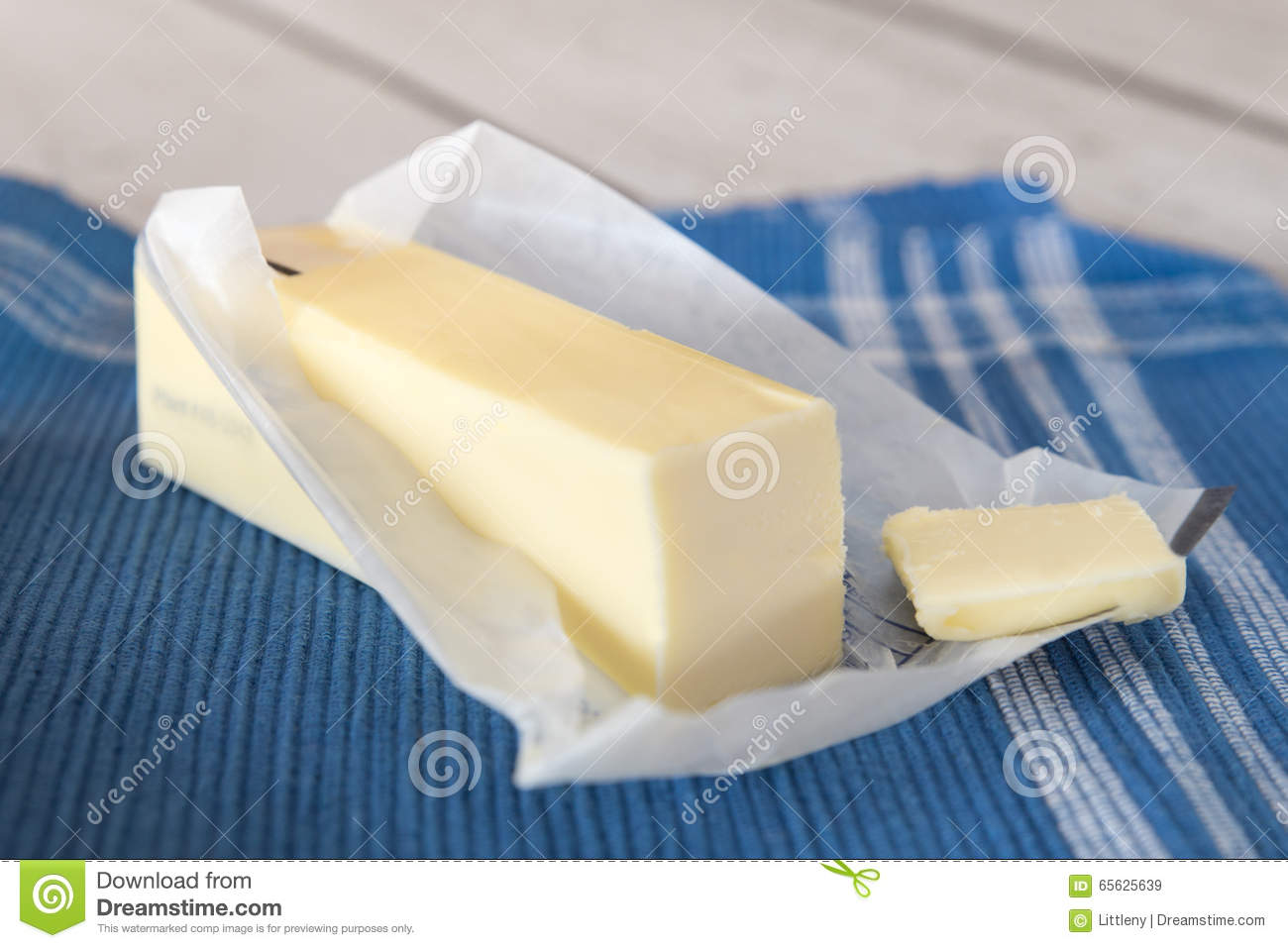 Butter Stock Photo - Image: 65625639