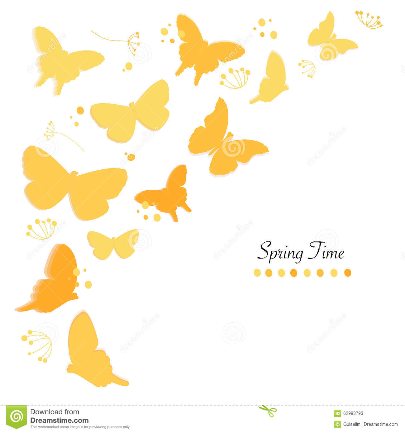 ... Time Greeting Card Vector Background Stock Vector - Image: 62983793