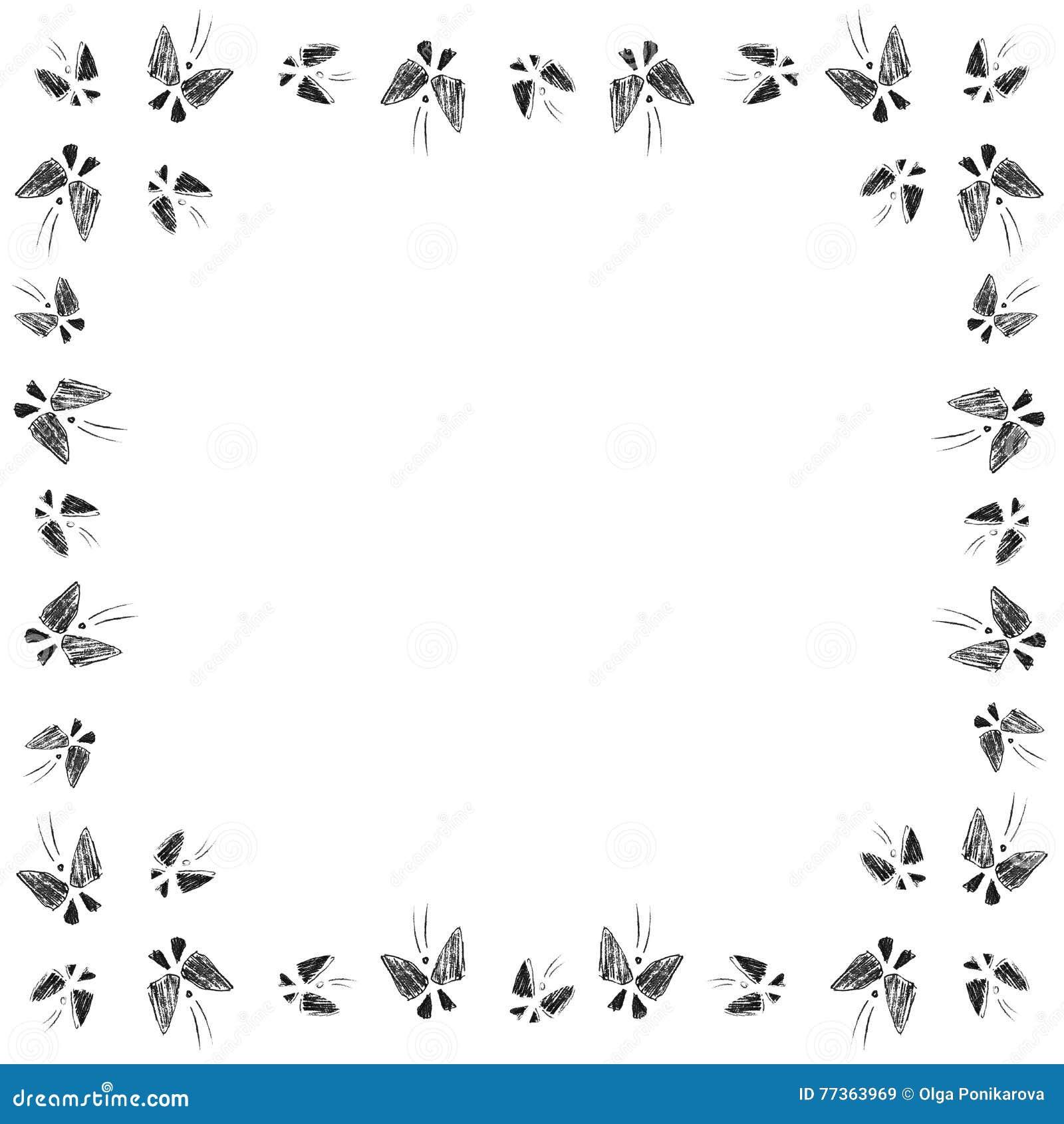 Butterflies Flight Stock Illustration Illustration Of Element