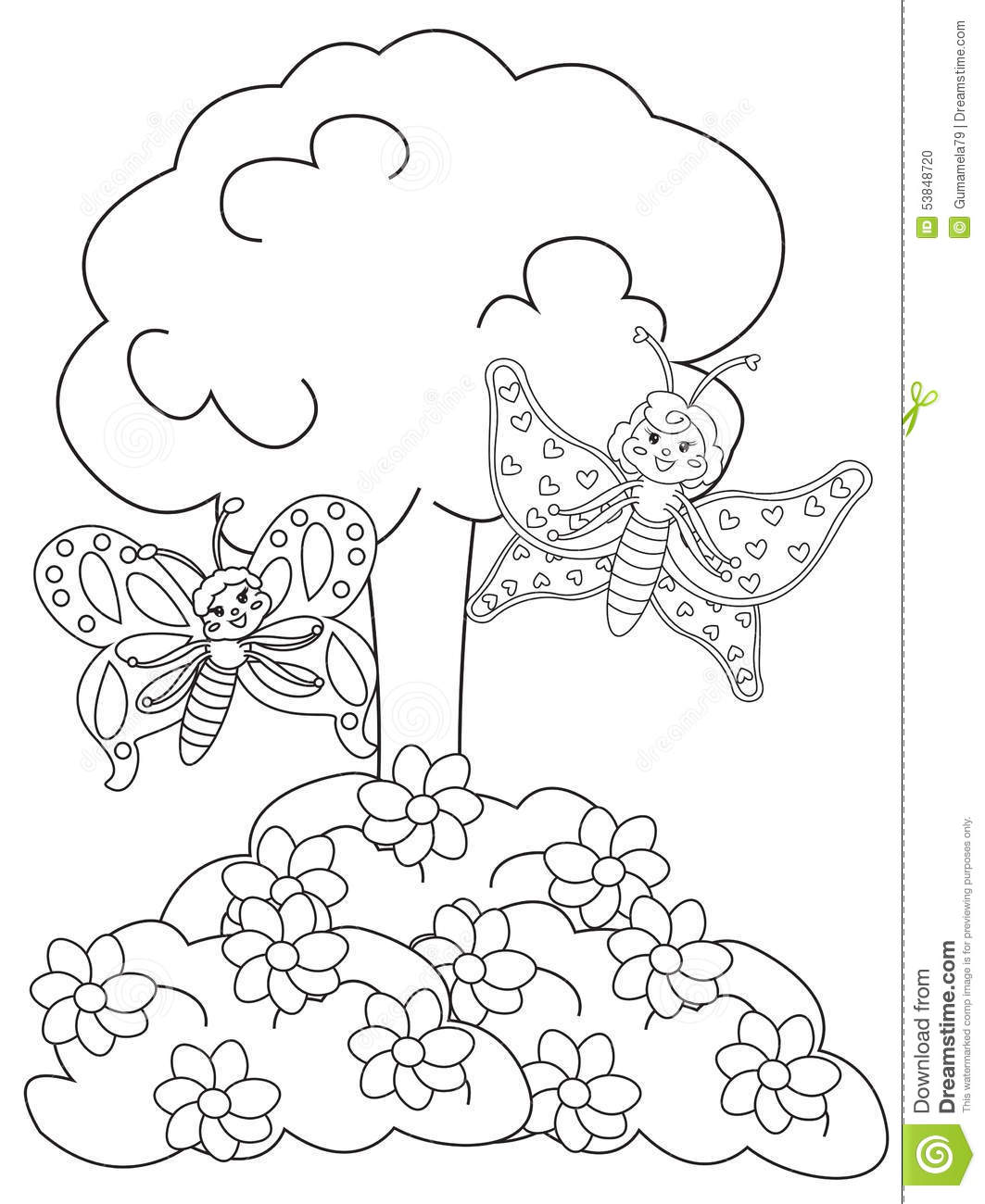 butterfly garden kit coloring pages - photo#17