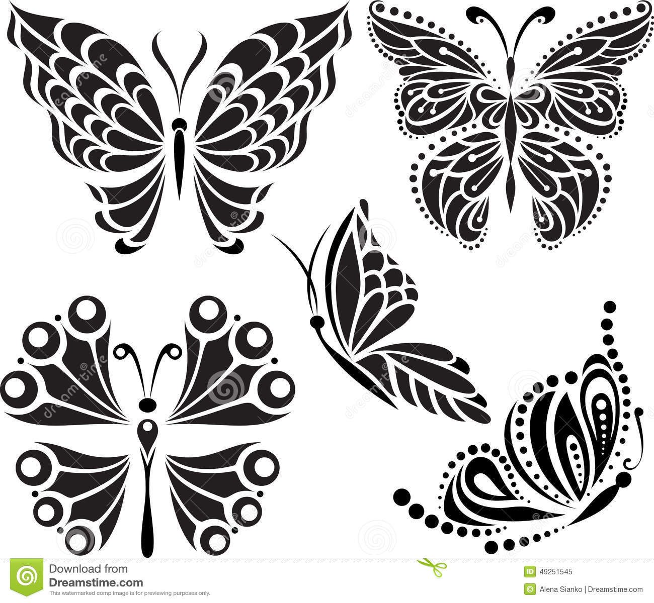 butterfly wing patterns drawing