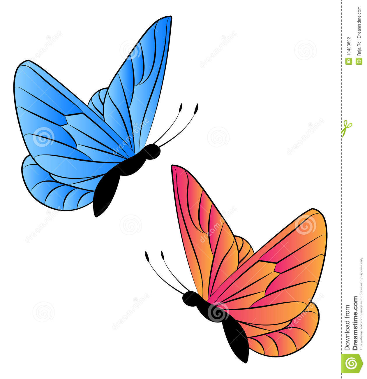 how to make a flying butterfly