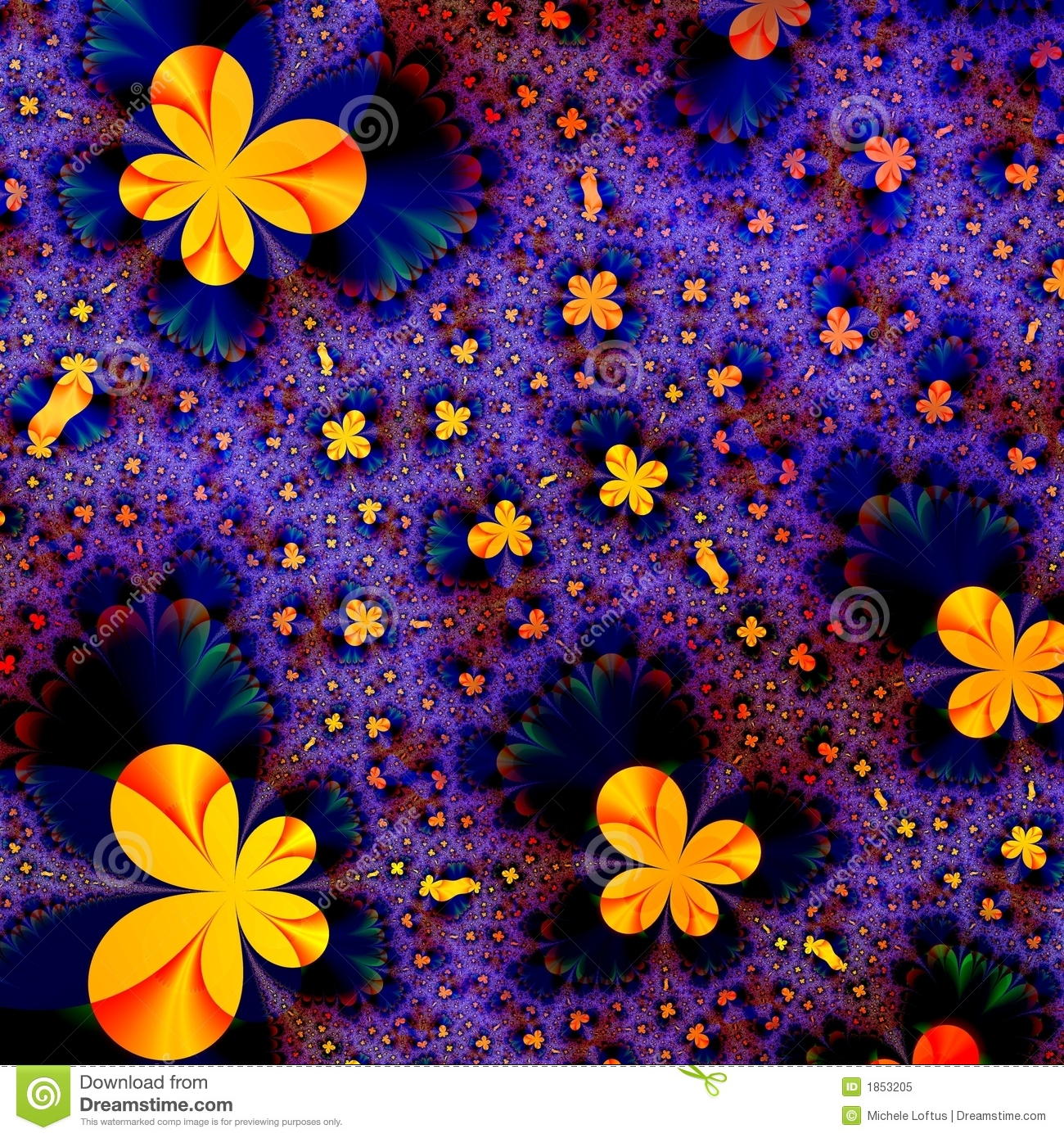 Butterfly Abstract Background Design Template Stock