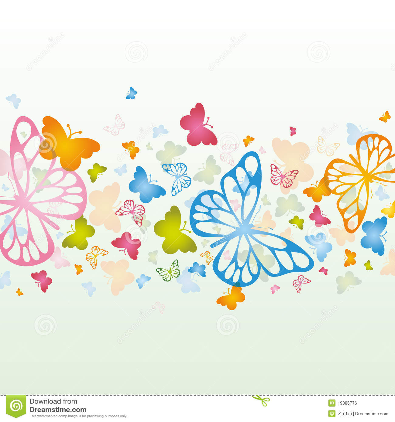 Butterfly Background Royalty Free Stock Image - Image: 19886776