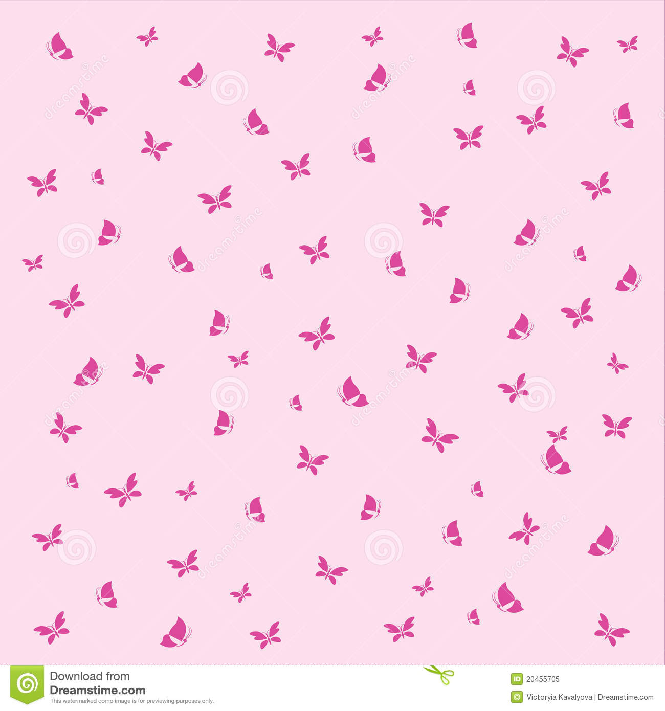 Pink vintage butterfly background - photo#22