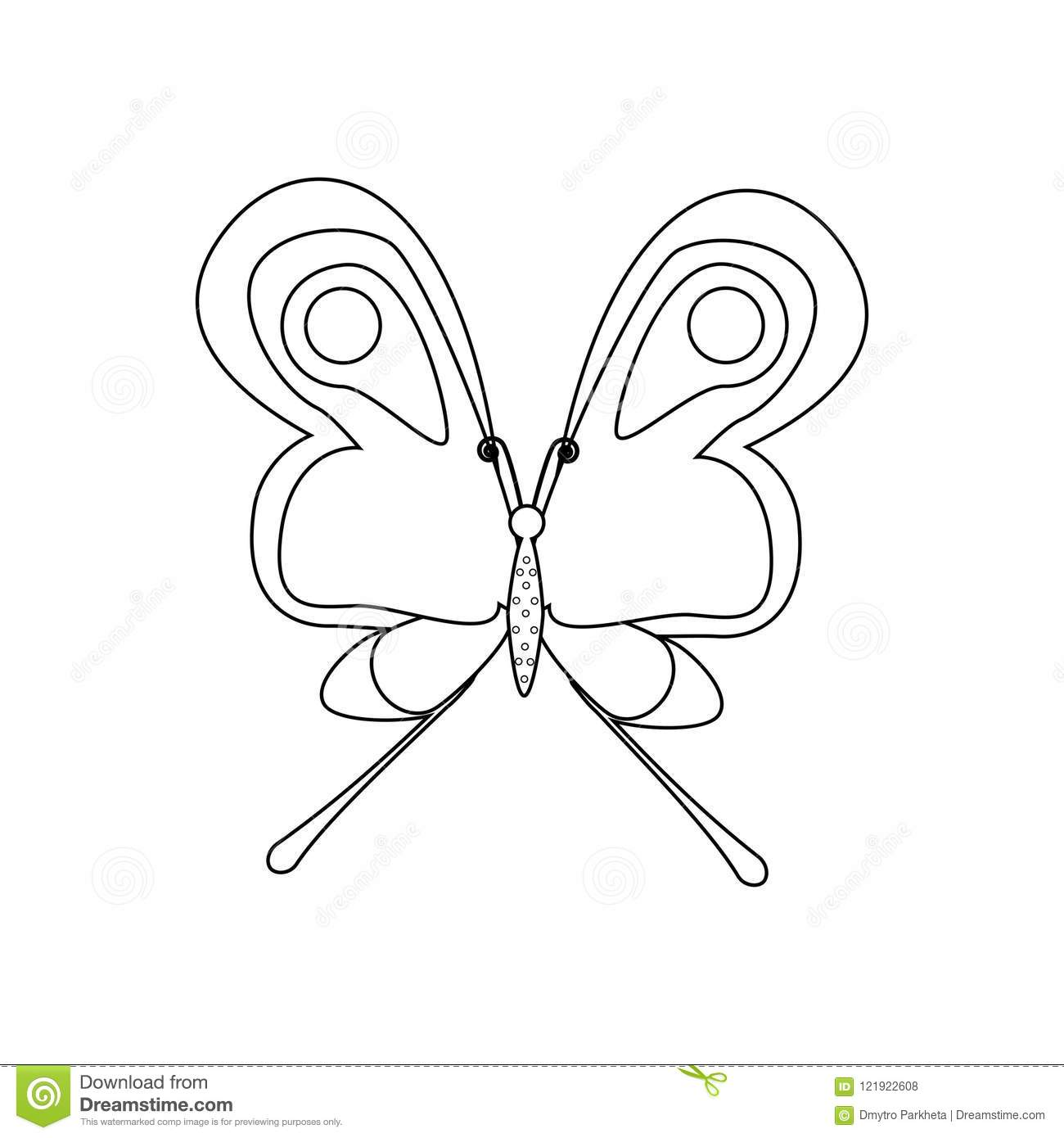 Butterfly Coloring Pages for Kids, 100 Images. Print for Free! | 1390x1300