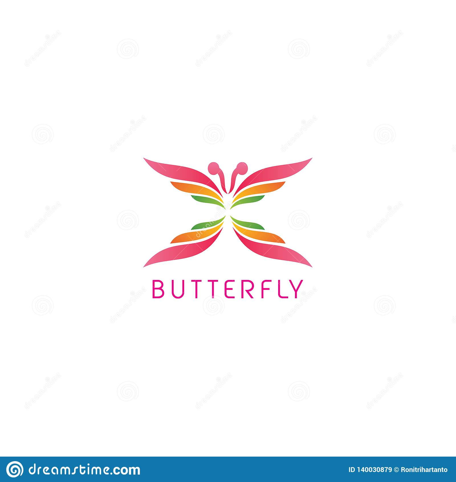 Butterfly icon design vector