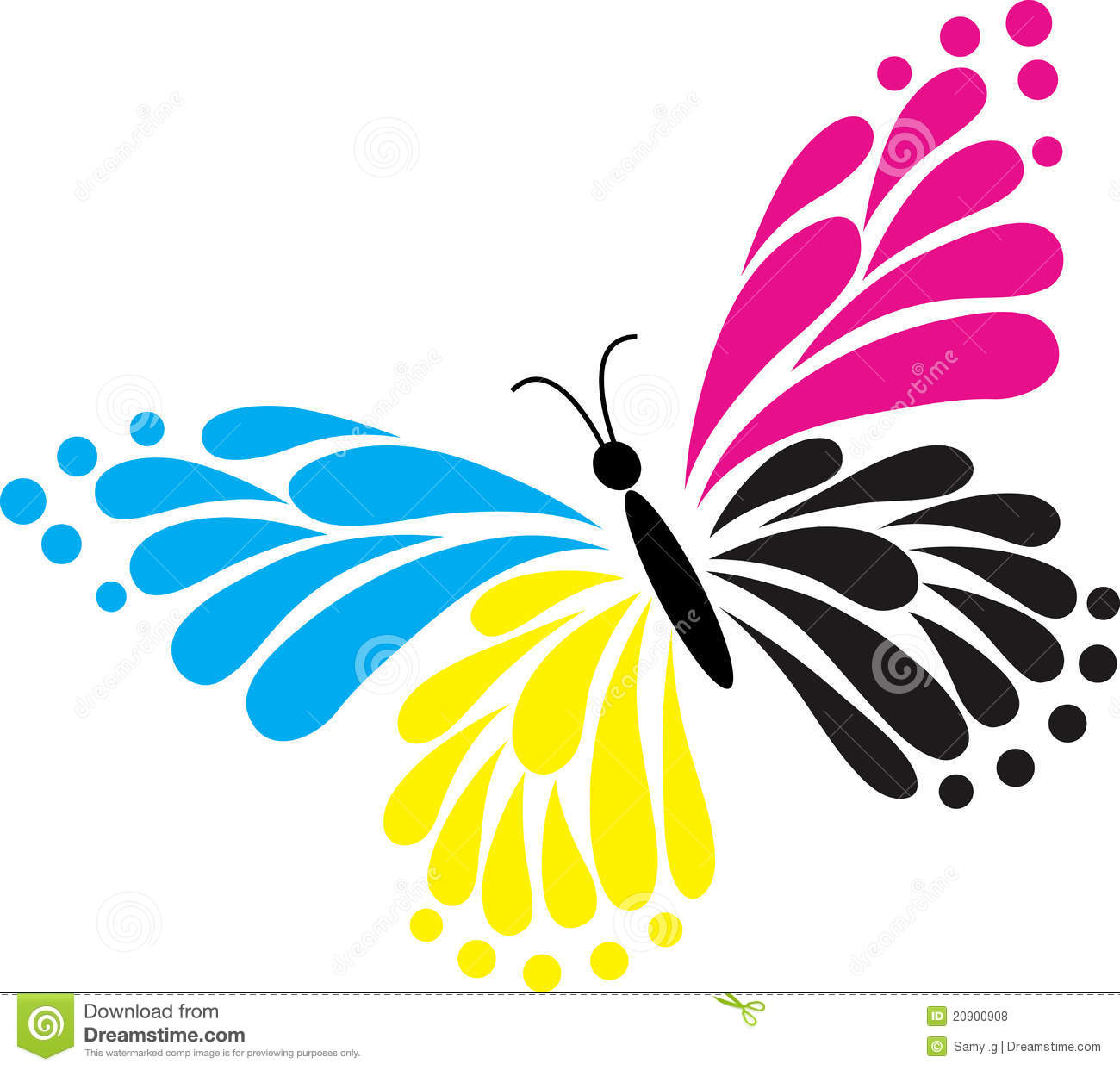 Set Of Colorful Spa Logo Vectors: Butterfly, Logo , Heart, Beauty, Spa , Relax, Love, Wings