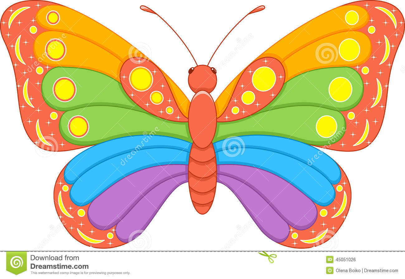 Showing post & media for Cartoon rainbow butterfly | www ...