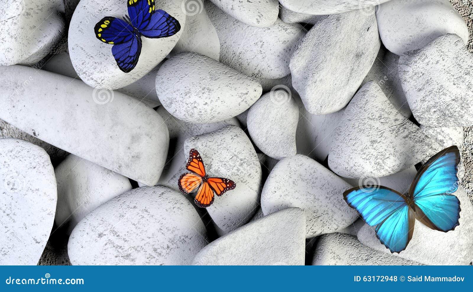 White Healing Stones