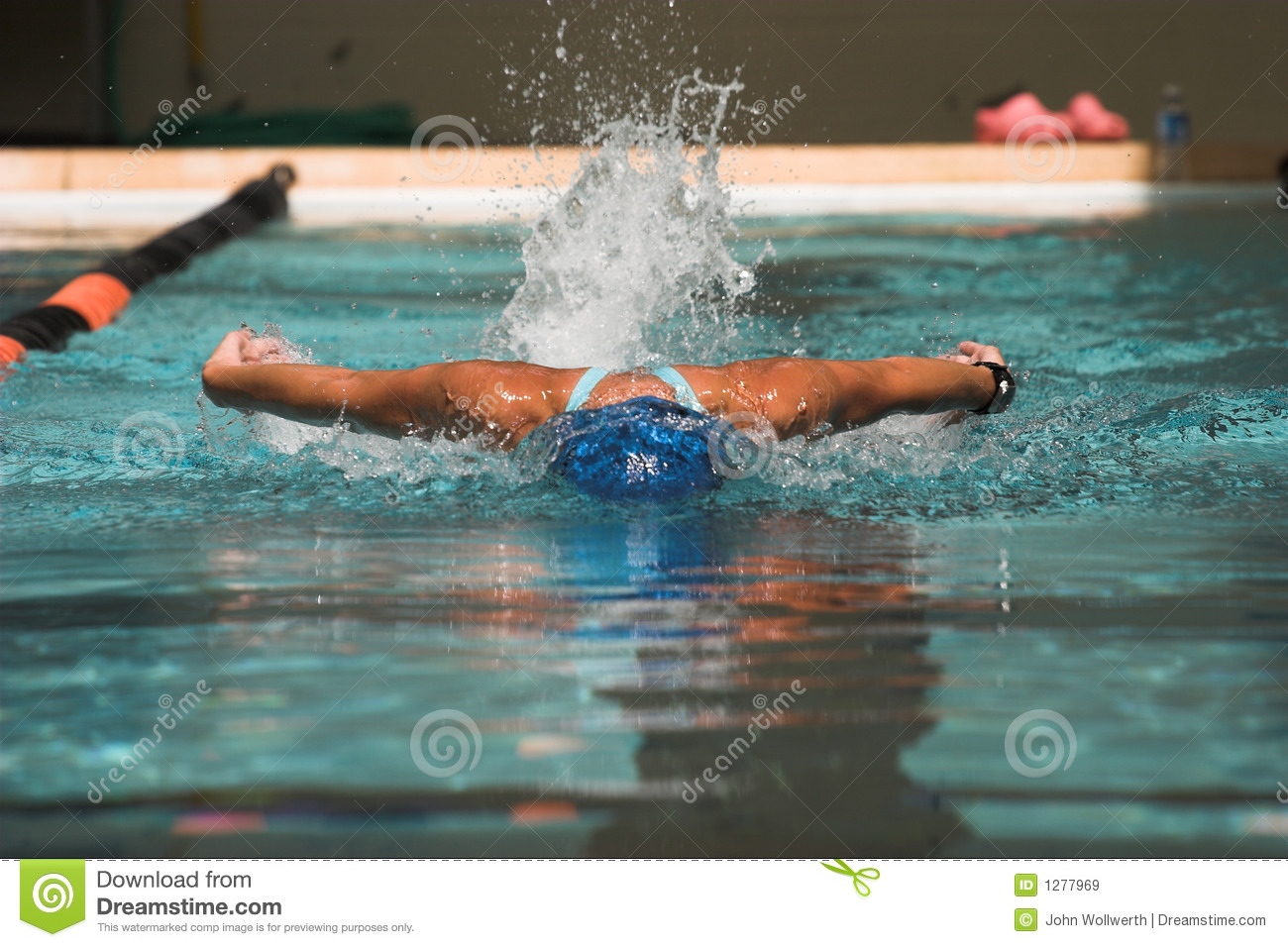 Butterfly Stroke Stock Image Image Of Stroke Muscle