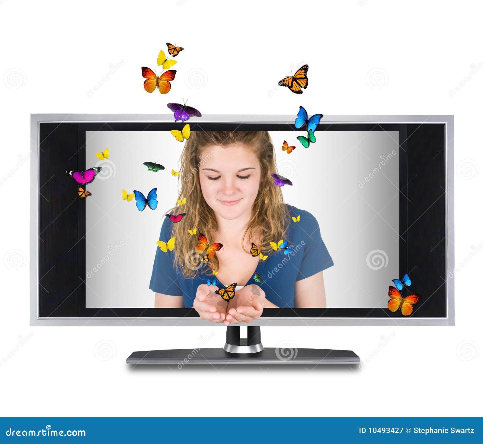 Butterfly tv