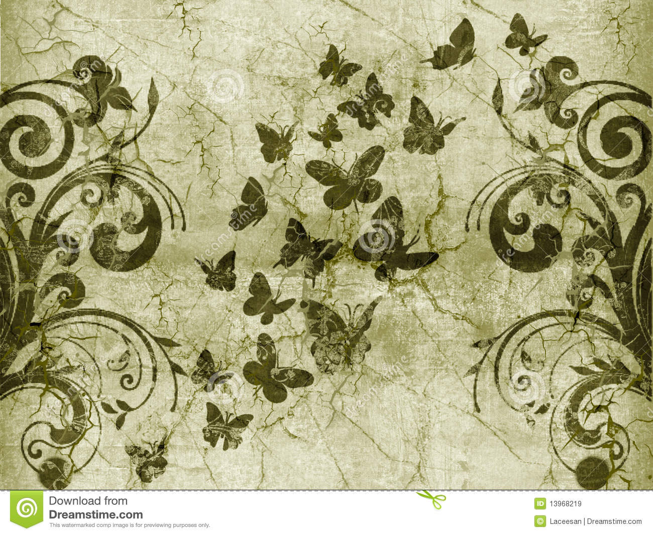 Butterfly vintage style royalty free stock images image 13968219 - Vintage style images ...