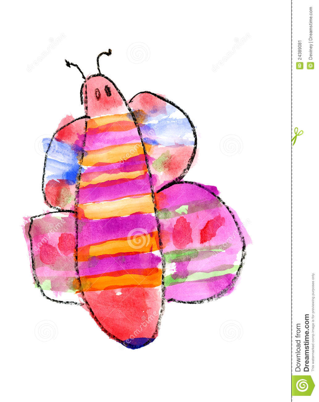More similar stock images of ` Butterfly watercolor `