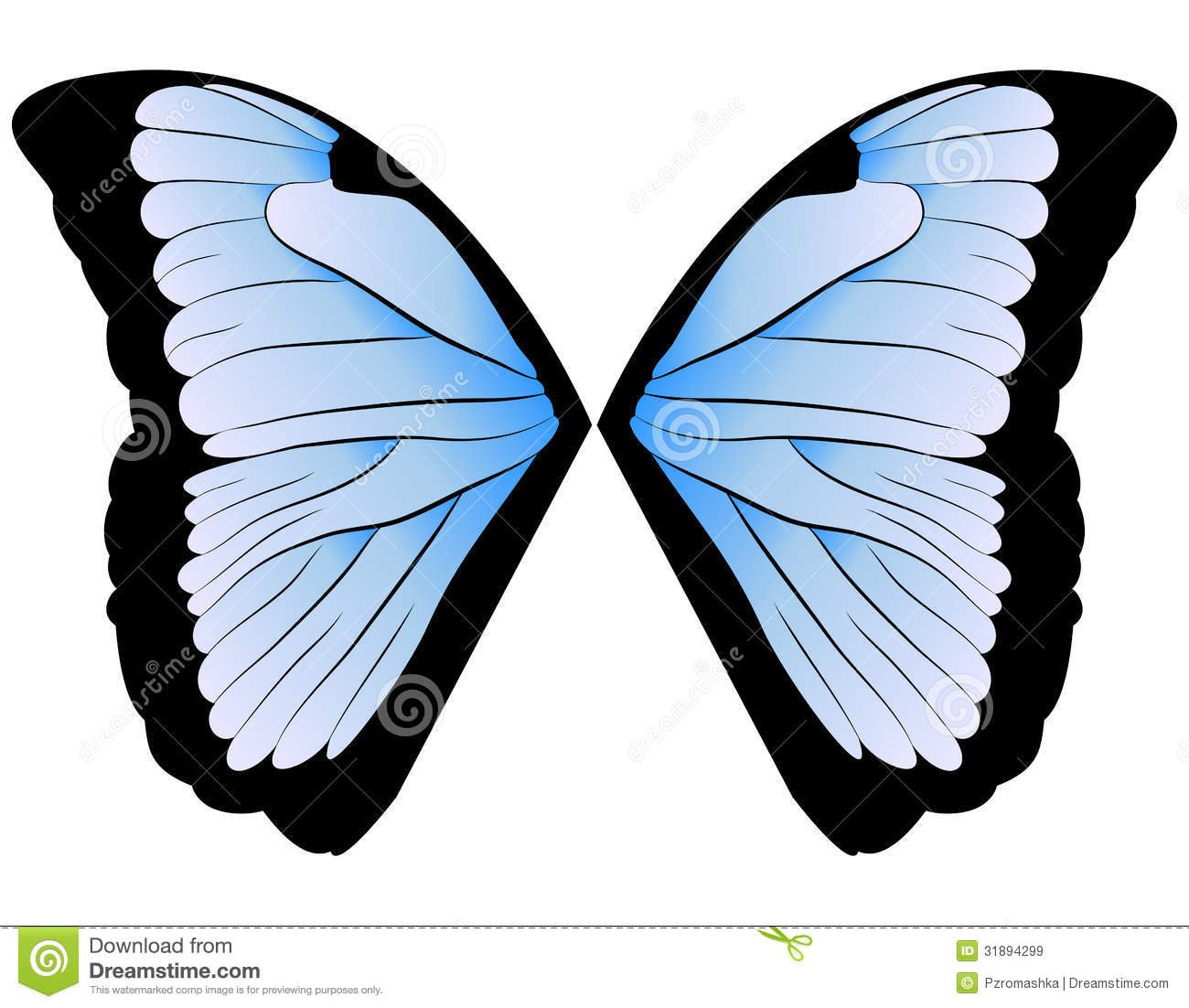 Butterfly Wings Royalty Free Stock Images - Image: 31894299