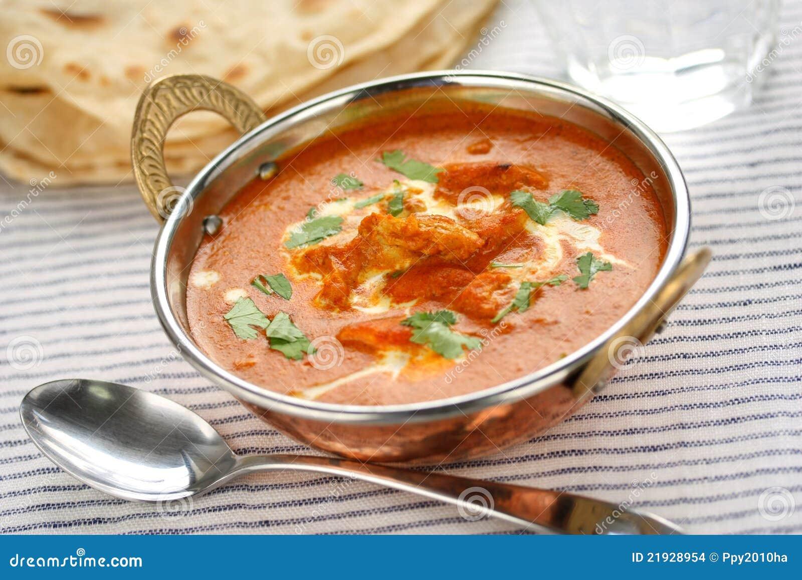 butterhuhn, indische küche stockbilder - bild: 21928954