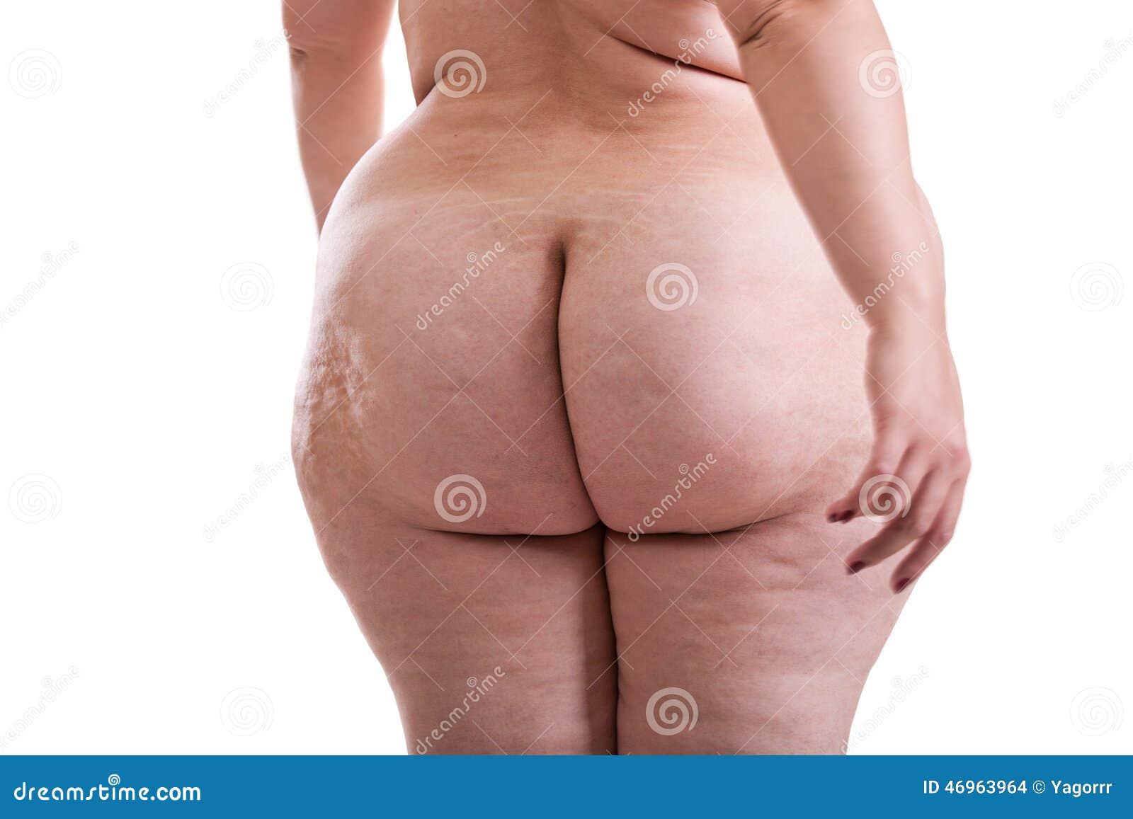 Naked Female Buttocks 44