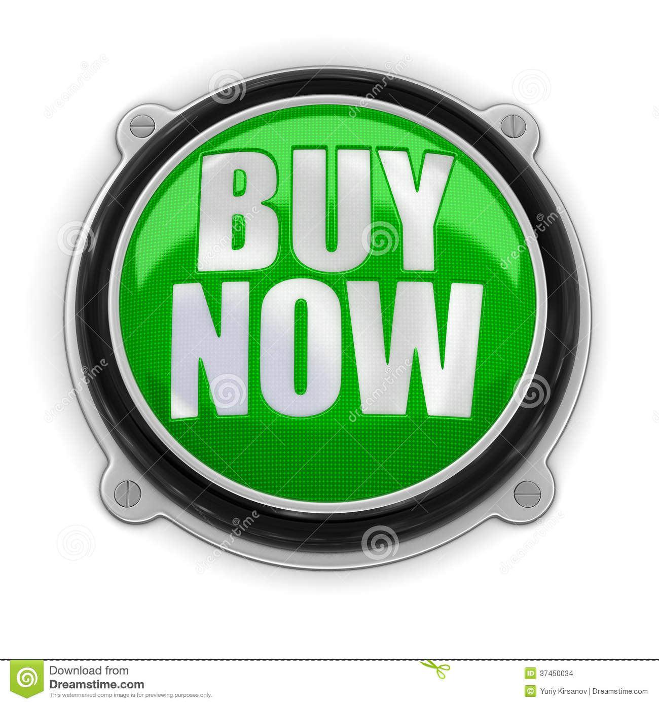 Buy Button: Button Buy Now (clipping Path Included) Stock Images