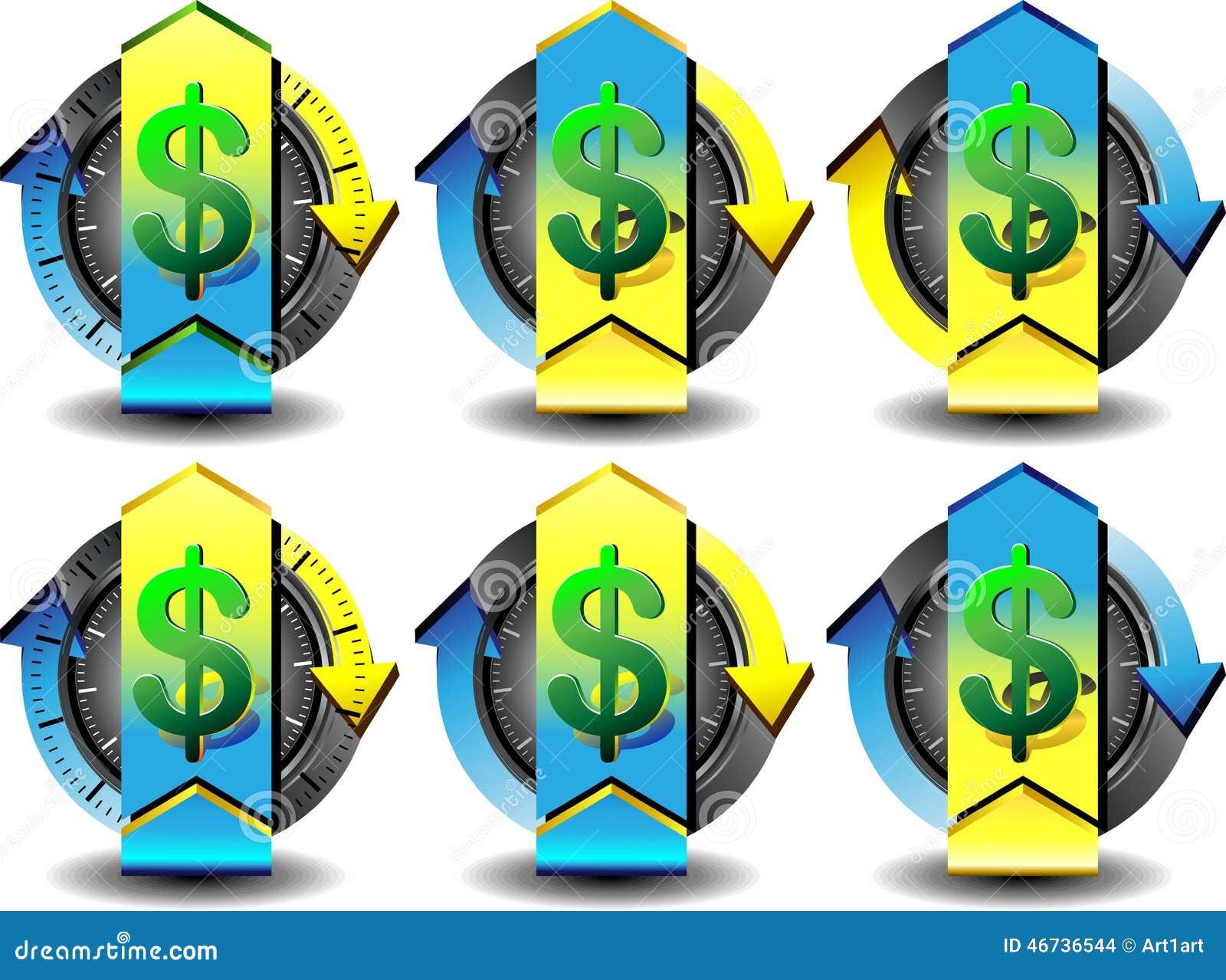 Button dollar