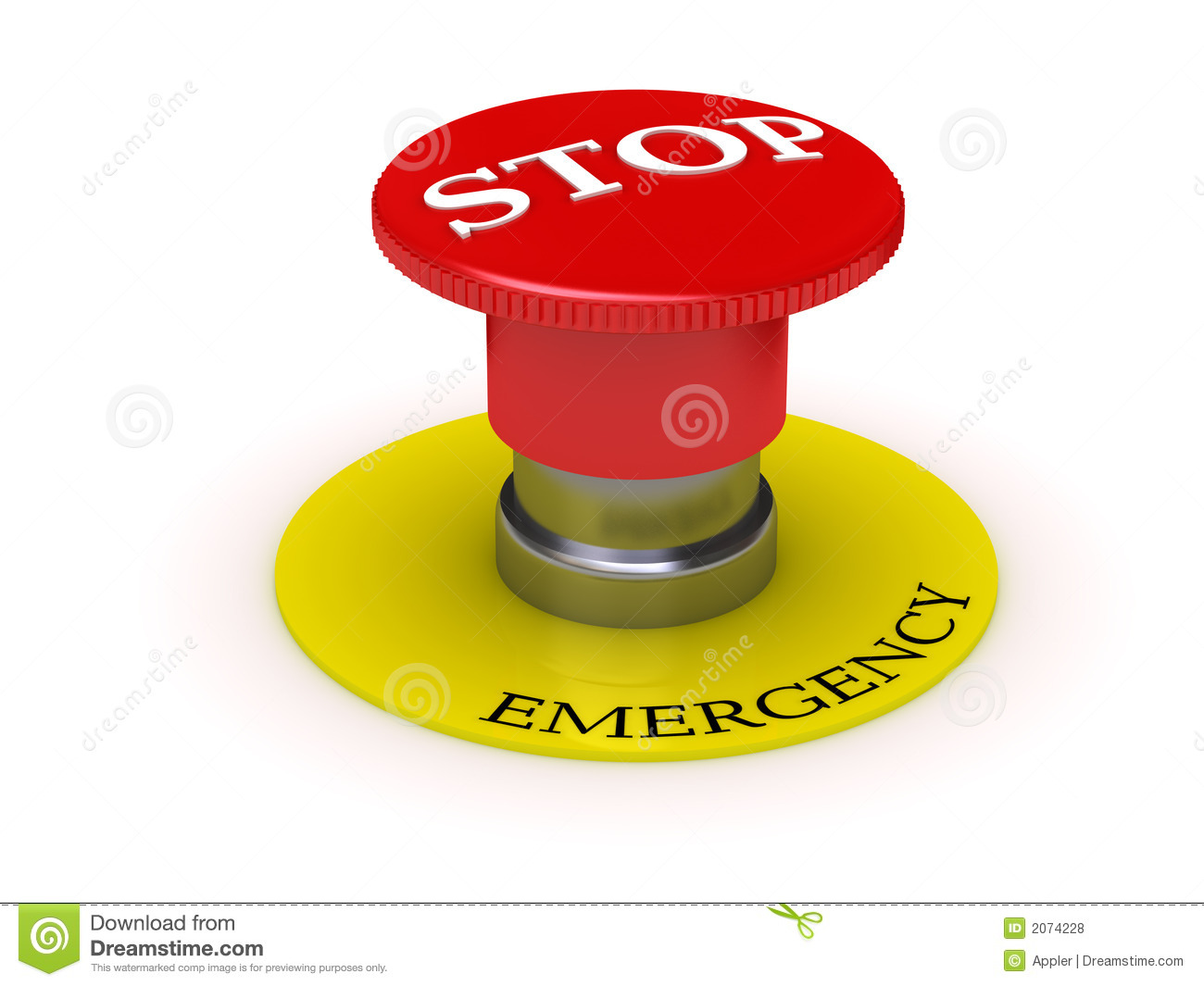 Emergency stop icon clipart emergency off - Background Button Emergency Illustration Stop
