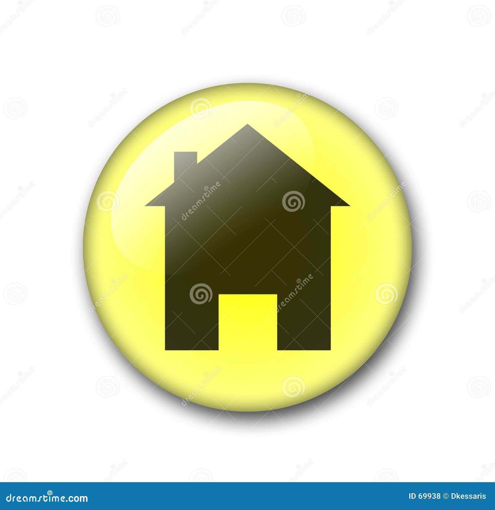 Button home rengöringsdukyellow