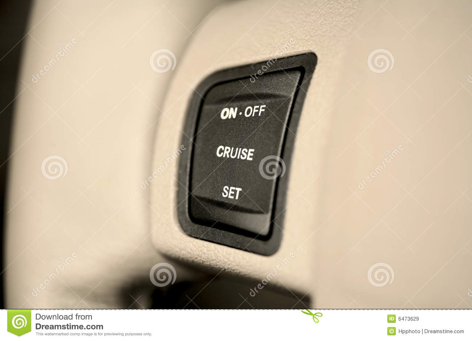Button kontroli rejs