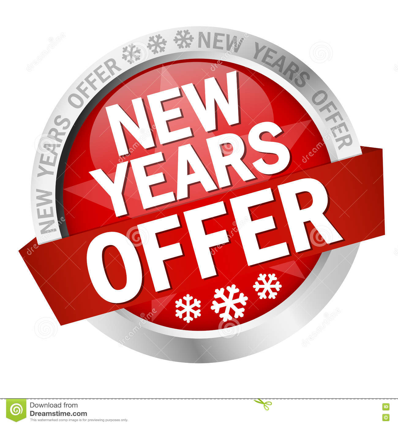 Button New Years Offer