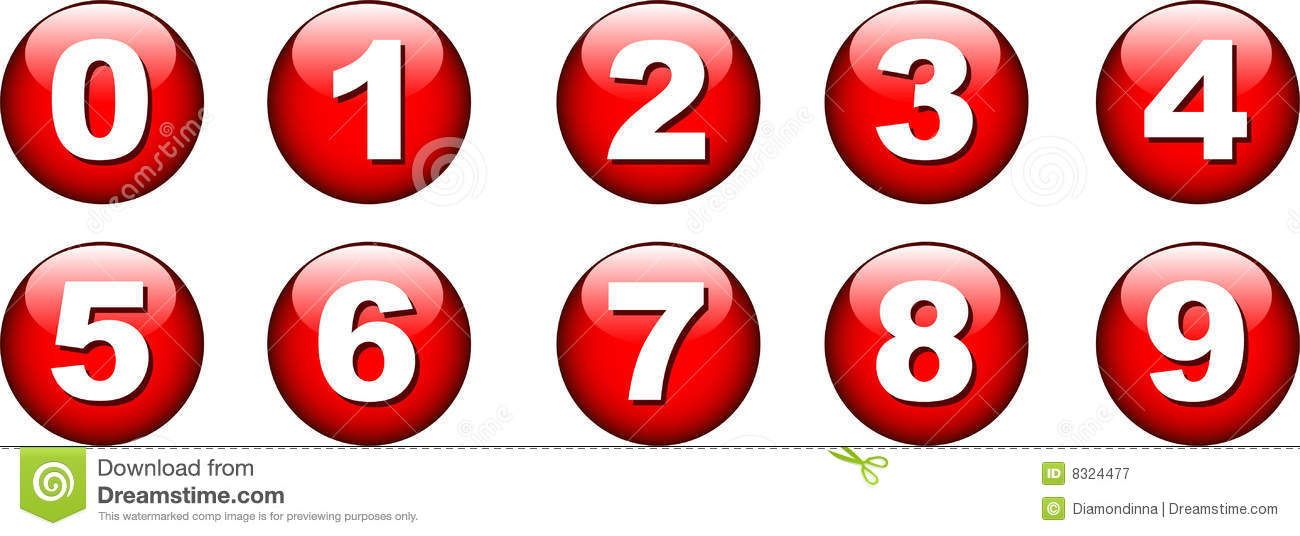 button number icon stock vector illustration of score 8324477