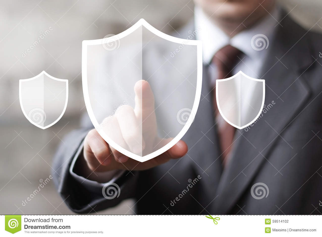 Button shield icon security virus web business online sign